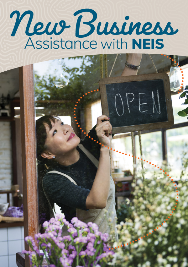New business assistance with NEIS